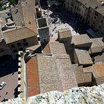 Ingresso al palazzo del podestà e salita sulla torre