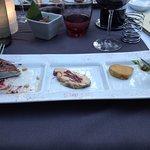 trio de foie gras !! hummmmm