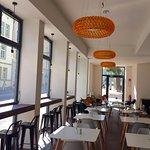 new breakfast cafe in-house!