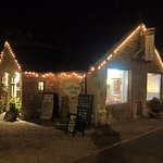 Night time at Crofters Bistro