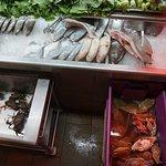 Etal crustacés et poissons
