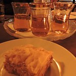 Cinnamon tea and baklava are a sublime way to end dinner at The Prophet