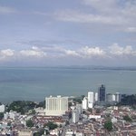 View from the top of Komtar tower