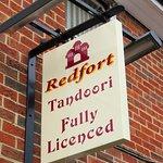 Redfort Tandoori - Overton village (25/Aug/16).