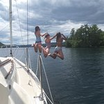 Happy Campers on Lake George Thanks to Smith Marina