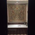 Bathroom was nice and spacious