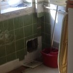 Annexe gaping hole in the wall
