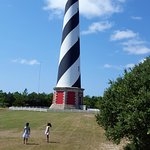 For a small fee, you can climb to the top of the Lighthouse. Great view!