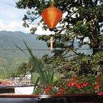 Cafe bar balcony