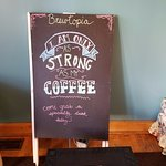 Funny sign at Brewtopia