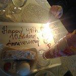 Anniversary desserts