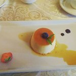 Beautiful creme caramel