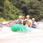 White-water rafting tour