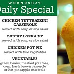 Wednesday Daily Special