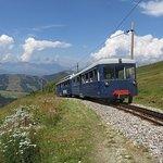 Montenvers Train - La Mer de Glace Photo