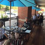 Our pet-friendly patio is the perfect place to relax with friends and family!