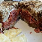 Finally!  What a Reuben should look like!
