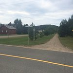 Near the Laurentian Golf club (Ste Agathe)