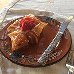 Housemade strawberry danish - breakfast buffet