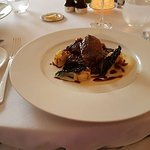 Roast grouse at The Pompadour