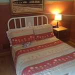 Comfy beds in a historic context, with good amenities