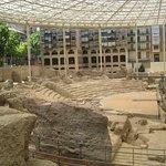 Teatro romano de Zaragoza capital