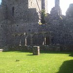 The courtyard at Fore Abbey.