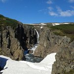 The waterfall at Laugerholl