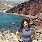 Red Beach Foto