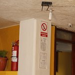 Servicio de wifi gratis, cámaras de video vigilancia