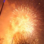 One of the fireworks ...........................................................................