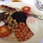 Full Scottish breakfast!