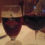 Shiraz and Moretti Rosso