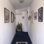 The 'beachy' feel of the upstairs hall...