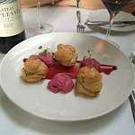 Goat Cheese Profiteroles