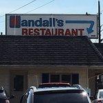 Randall's Restaurant taken from side parking lot