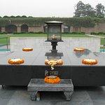 Gandhi Funeral Pyre platform.