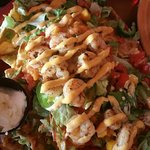 The Donald- shrimp and lobster nachos. Amazing!