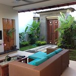 One bedroom pool delux villa