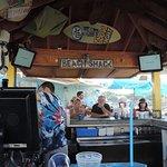 the patio bar at CabbyShack