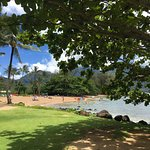 Hanalei Bay is absolutely beautiful.