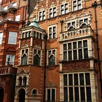 We enjoyed riding around beautiful squares and seeing town houses such as this on in Kensington