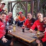MTR mountain bike team brunch