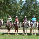 Great time at Wampee Stables!! Wonderful horses and the nicest trail guides! Thanks for a great
