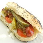 Authentic Chicago Dog with all the authentic fixins... trust us its as close to Chicago as you w