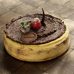 Chocomaltine Cheese Cake