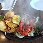 The Mixed Platter Starter - sizzling and scrumptious