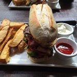 The Nookery steak sandwich
