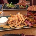 Burger mit doppelt Fleisch