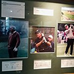 Arnold Palmer, Gary Player, Jack Nicklaus: signed photo in the dining area.